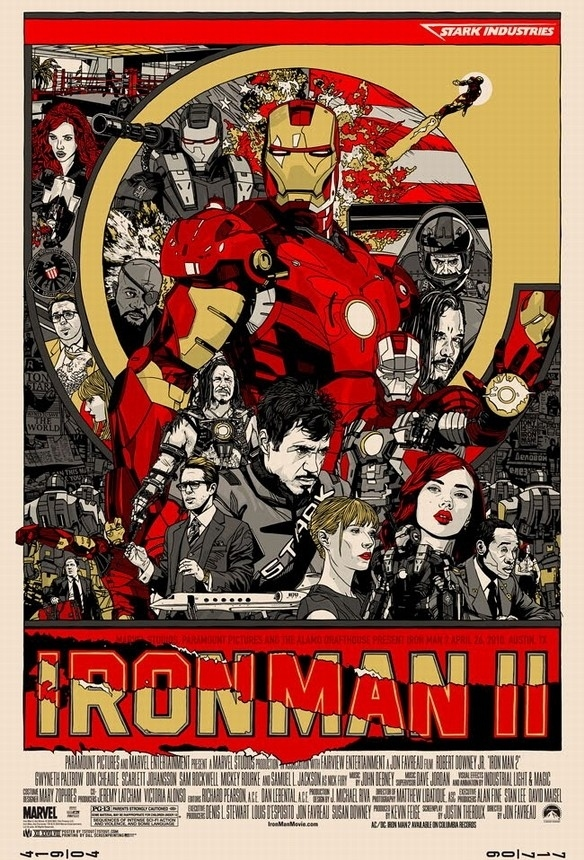 Fan-Made Iron Man 2 Poster is Better Than the Real Thing