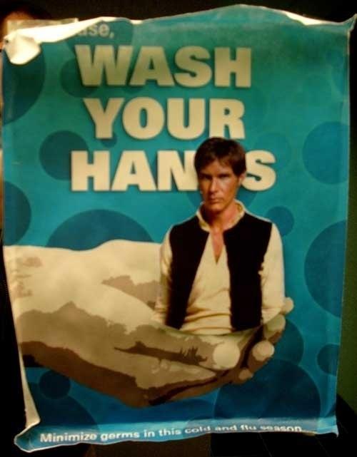 Please, Wash Your Hans