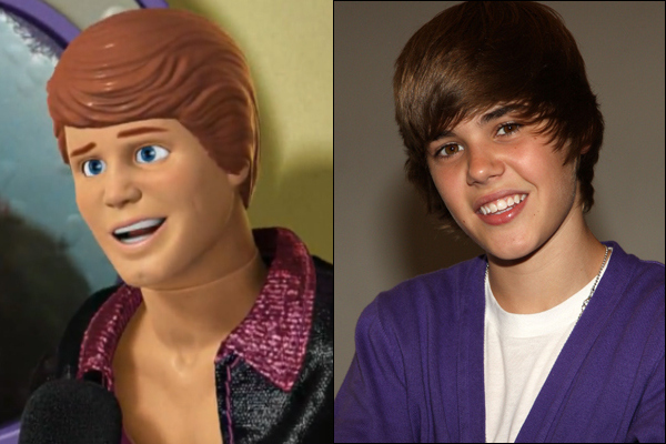 Justin Bieber & Ken Doll. Separated At Birth?