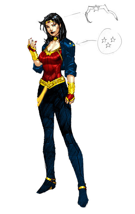 Wonder Woman's New Look