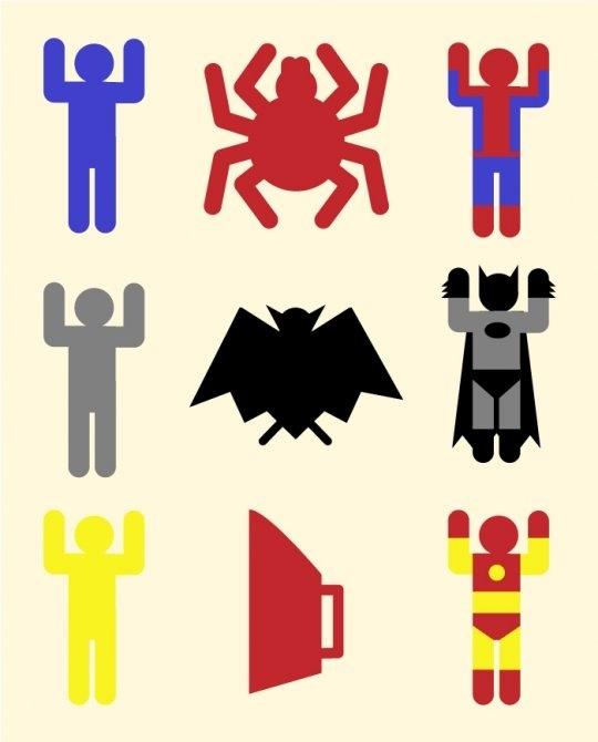 Super Heroic Minimalism