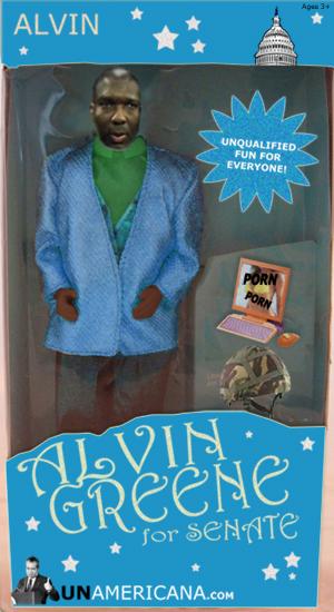 Alvin Greene Action Figures?!?