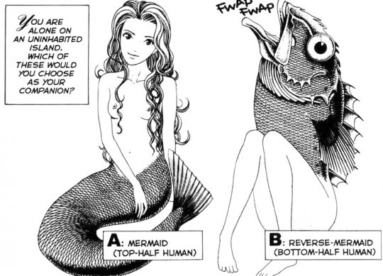 Which Mermaid Would You Choose?