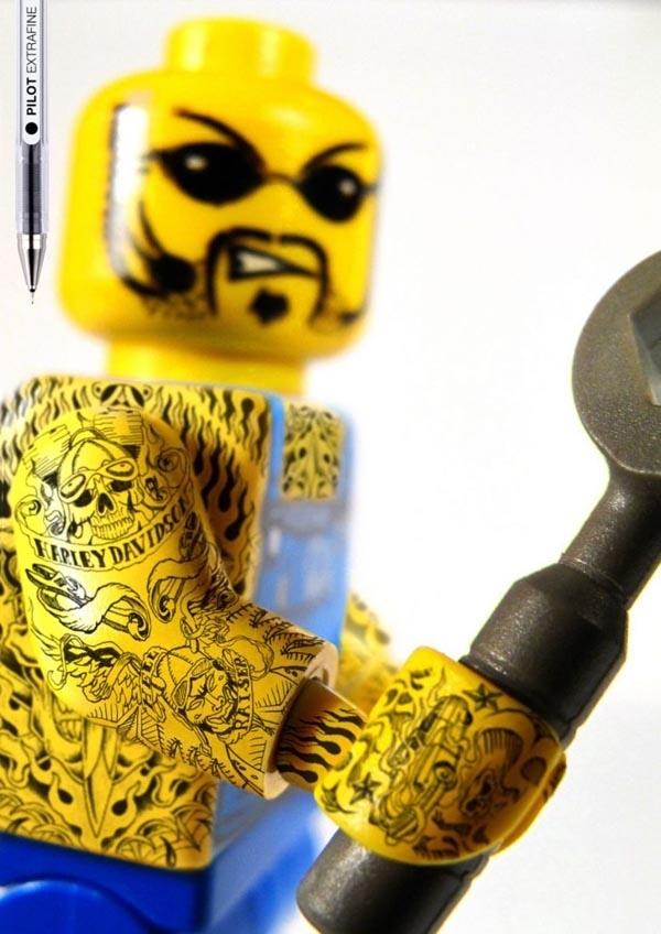Tattoo LEGO Minifigures