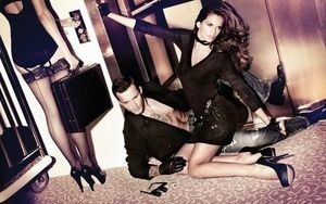 Izabel Goulart by Yu Tsai for Freesoul Ad Campaign
