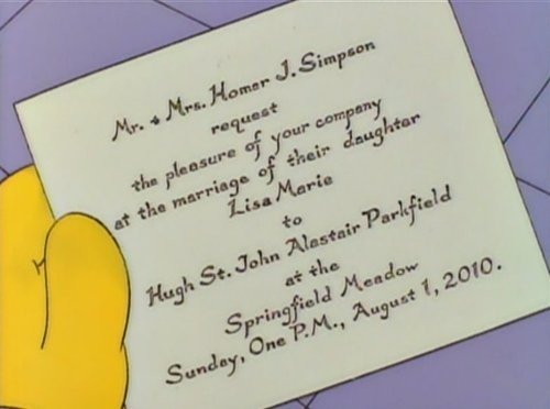 Today in Simpsons Canon...