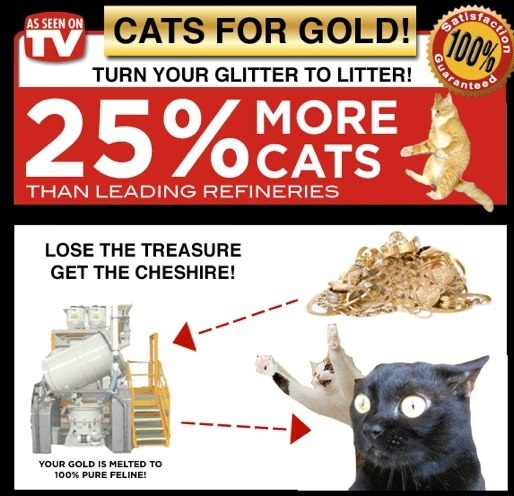 Cats For Gold