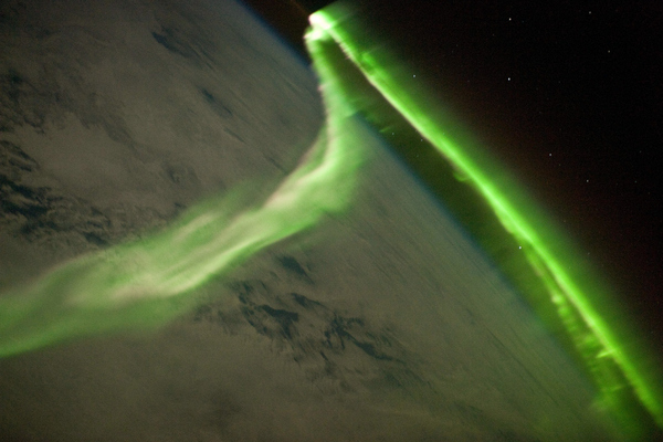 Aurora Australis Observed from Space