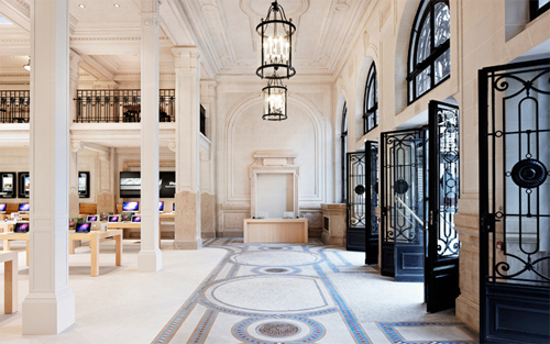 New Apple Store in Paris Looks Like a Fancy Museum