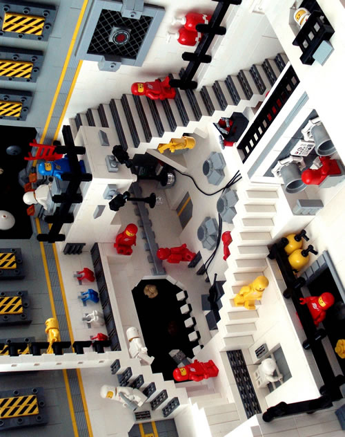 Escher Gets the LEGO Treatment