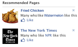 Racist Facebook Recommendations