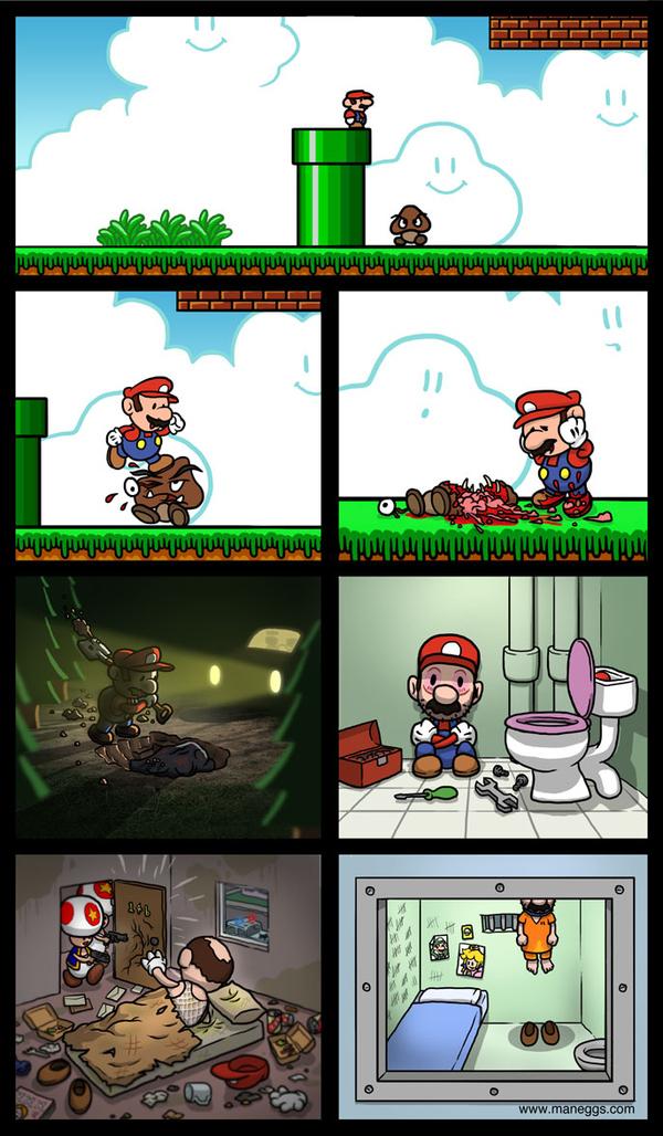 Mario's Life Of Crime