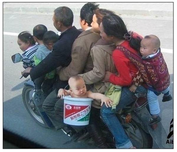 Baby Sidecar Bucket