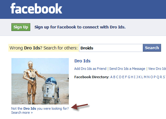 Not the Droids You Were Looking For