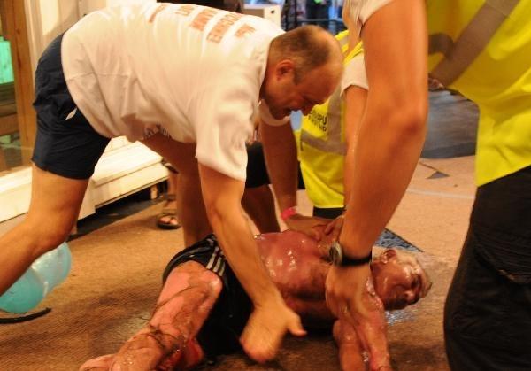 Finalist Dies in World Sauna Championship