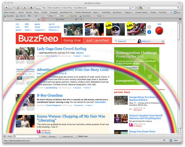 Double Rainbow-ify Any Website