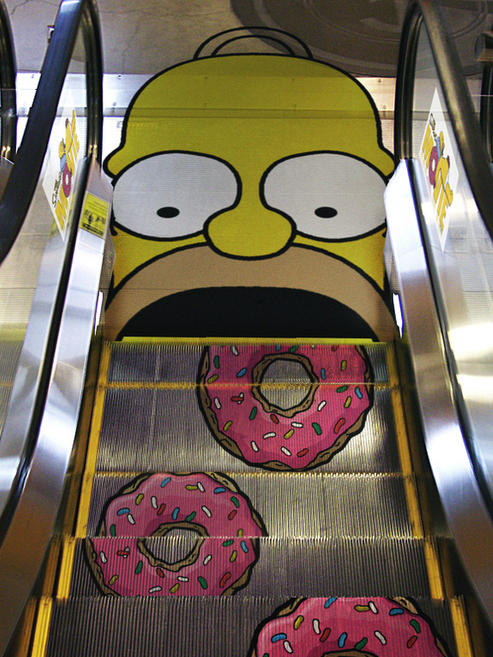HOMER Escalator? Yes Please!