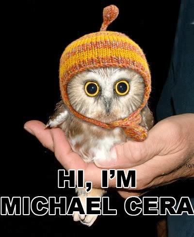 Hi, I'm Michael Cera