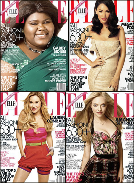 Elle Magazine Hates Fat People?
