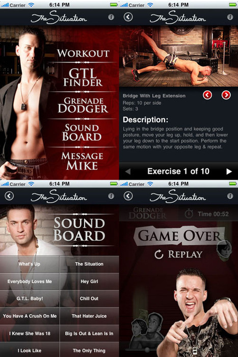 Introducing The Situation's IPhone App