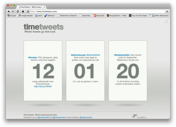 Timetweets