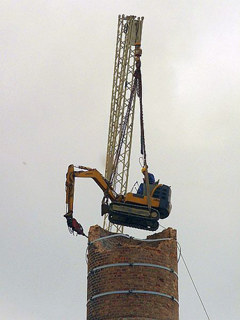 How To Dig Your Own Grave Or Not To Demolish A Chimney