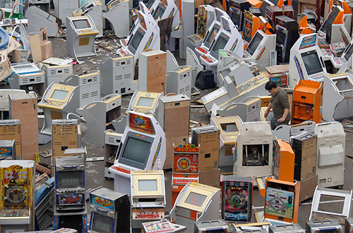 Arcade Machine Graveyard
