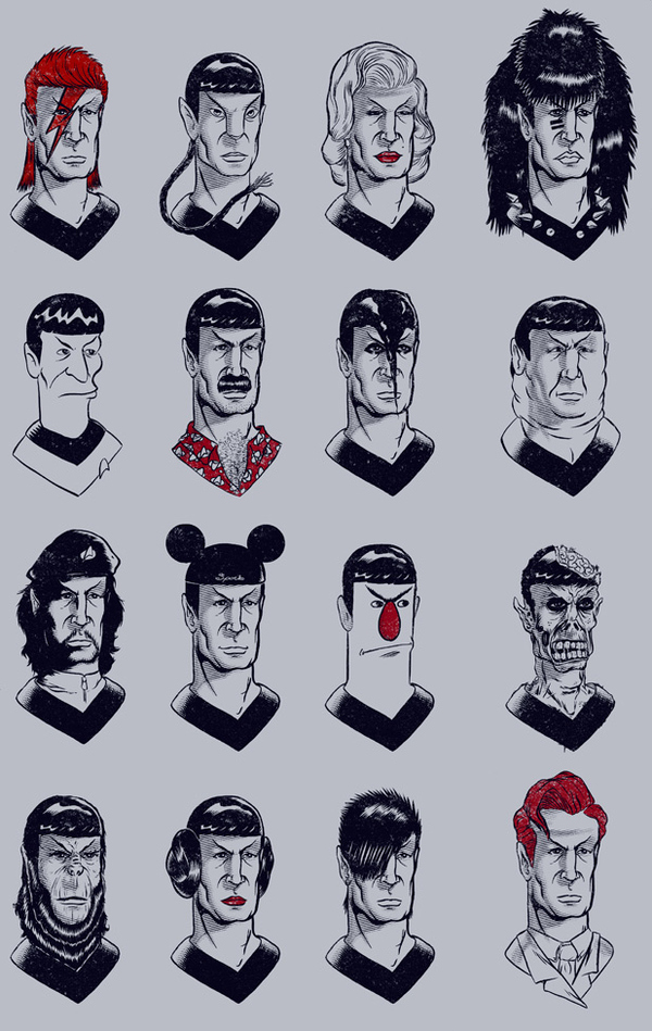 The Many Faces Of Spock