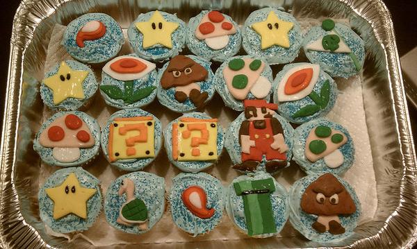Super Mario Brothers Cupcakes