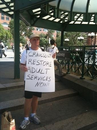 Craigslist Protester