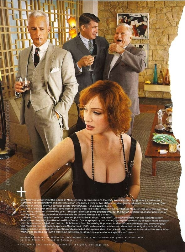 Apparently, GQ Thinks Christina Hendricks is All Boobs.