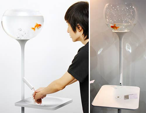 Cool ideal, although I imagine there are some sadists out there who might enjoy the occasional maniacal cackling while they wash their hands.