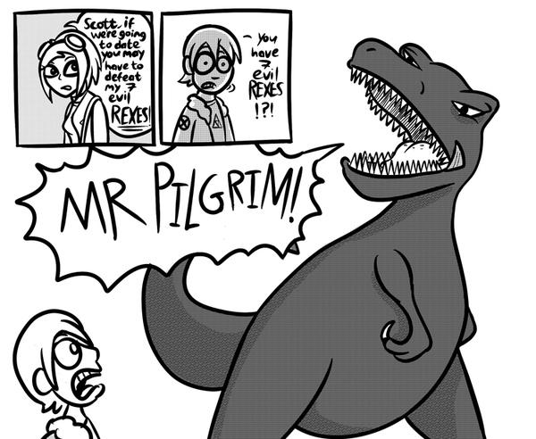 Scott Pilgrim Vs. The Dinosaurs