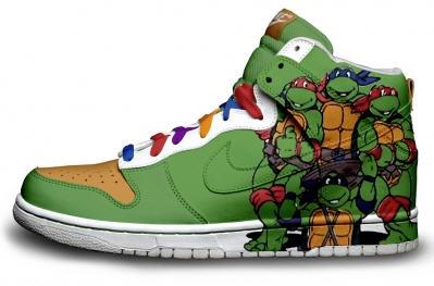 TMNT Nikes