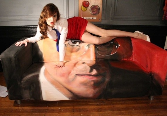 Stephen Colbert Couch On Etsy