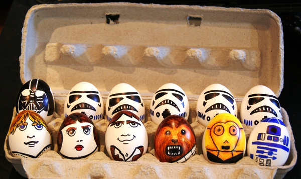 Star Wars Eggshells