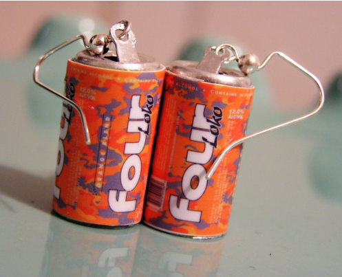 Four Loko Earrings