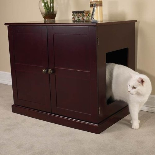 Luxurious Cat Litter Cabinet