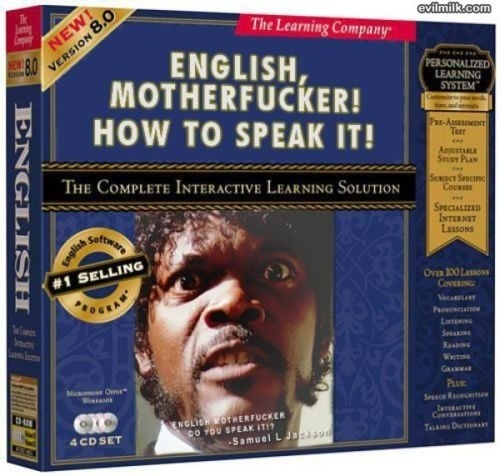 Samuel L. Jackson Teaches English