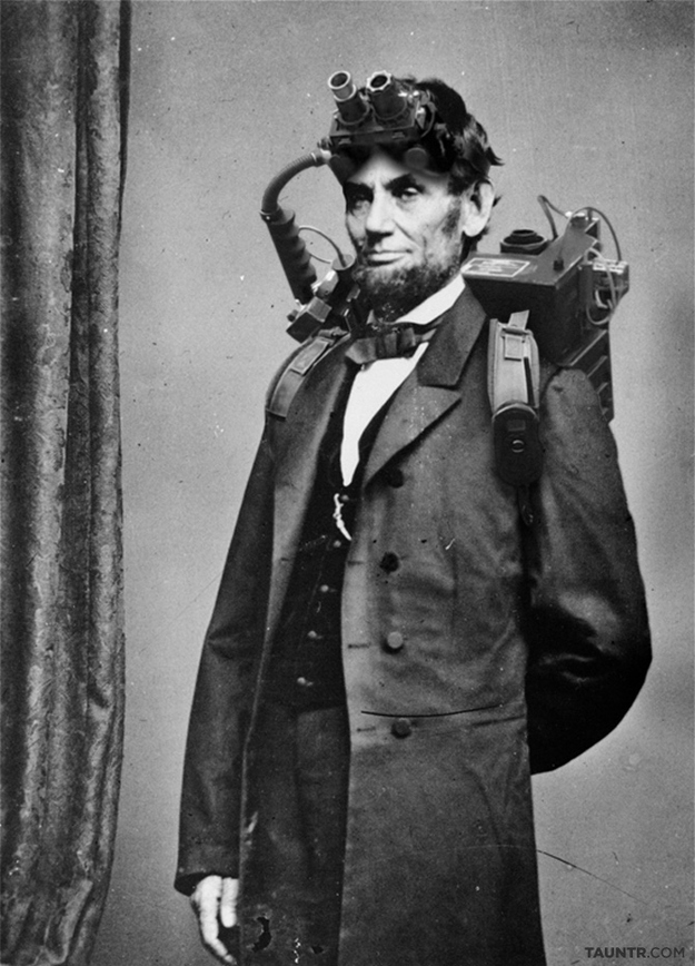 Ghostbuster Abe Lincoln