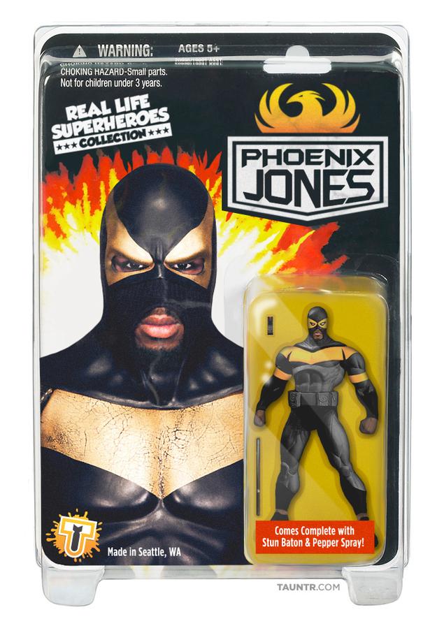 Phoenix Jones Action Figure