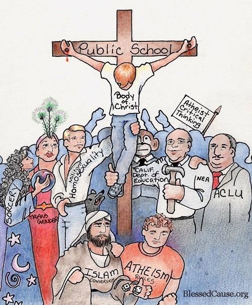 Horrible Political Cartoon