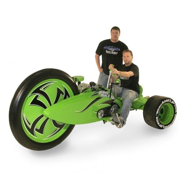 Lean Mean Green Machine Motorcycle