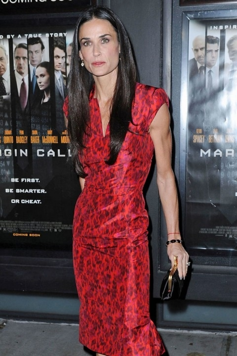Demi Moore's Fading Away From Marital Issues