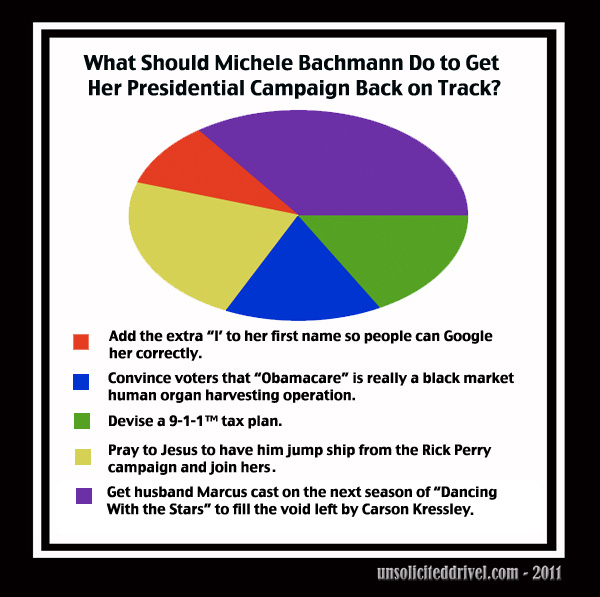 What Should Michele Bachmann Do To Get  Her Presidential Campaign Back On Track?