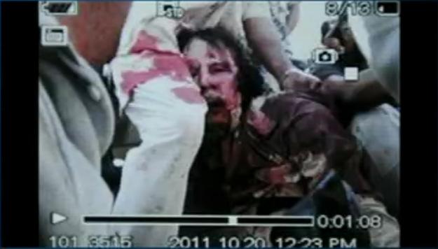 Dead Gaddafi is Dead.