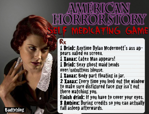 American Horror Story Drinking(ish) Game