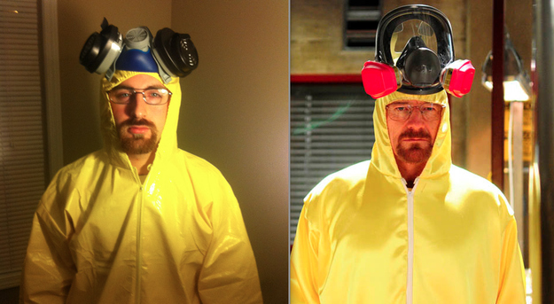 Halloween Costume Of The Year: Walter White