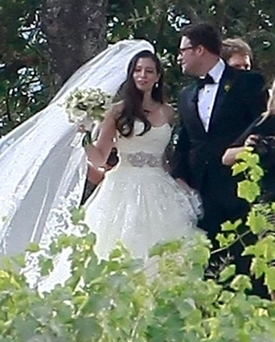 Seth Rogen & Lauren Miller Wedding PHOTO