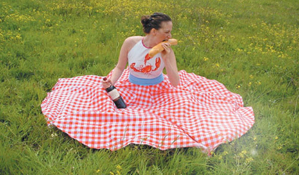Picnic Table Dress Two-In-One